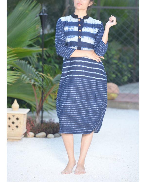 Ocean striped tunic