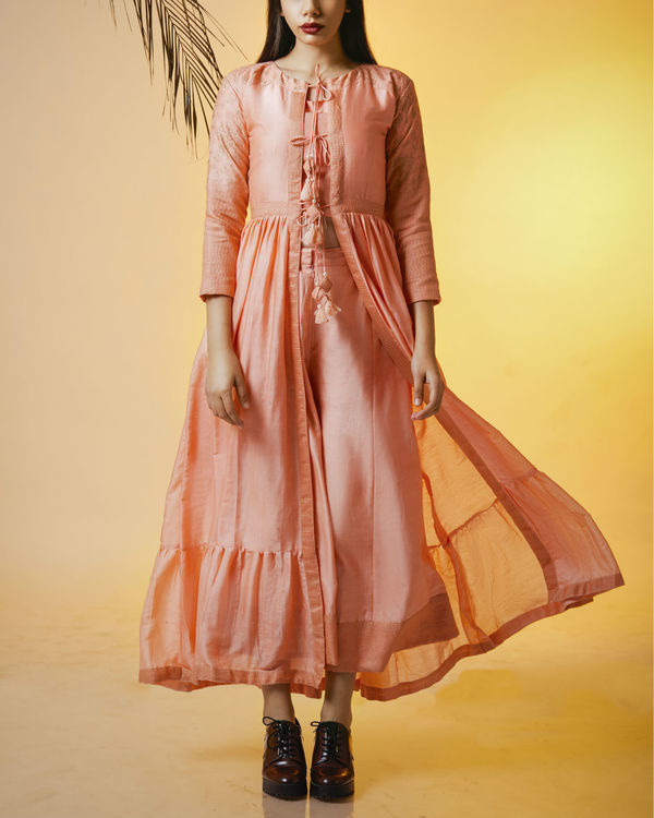 Blush pink cape