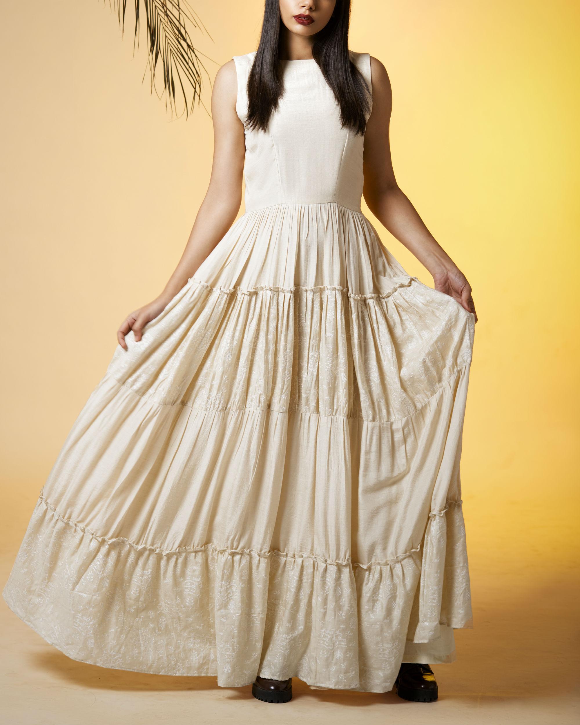 Ivory princess dress