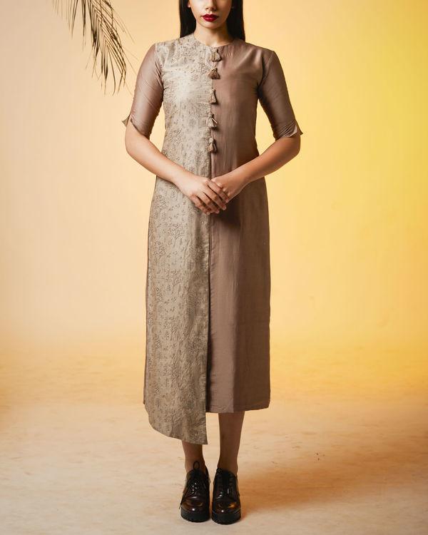 Ash half and half dress