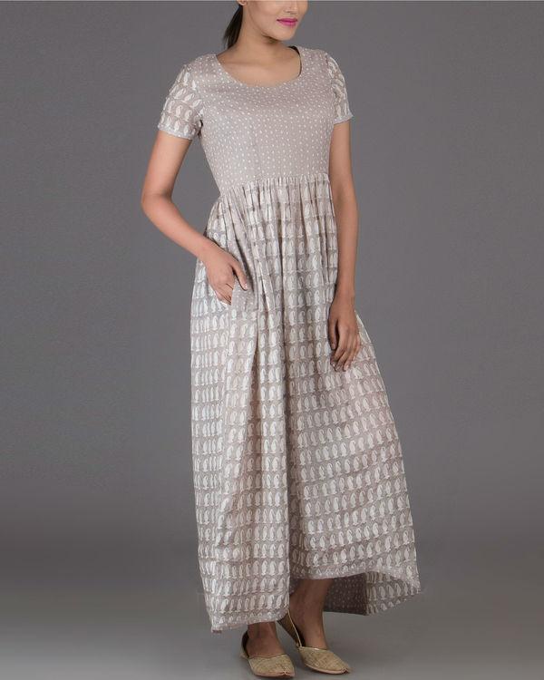 Polka paisley dress
