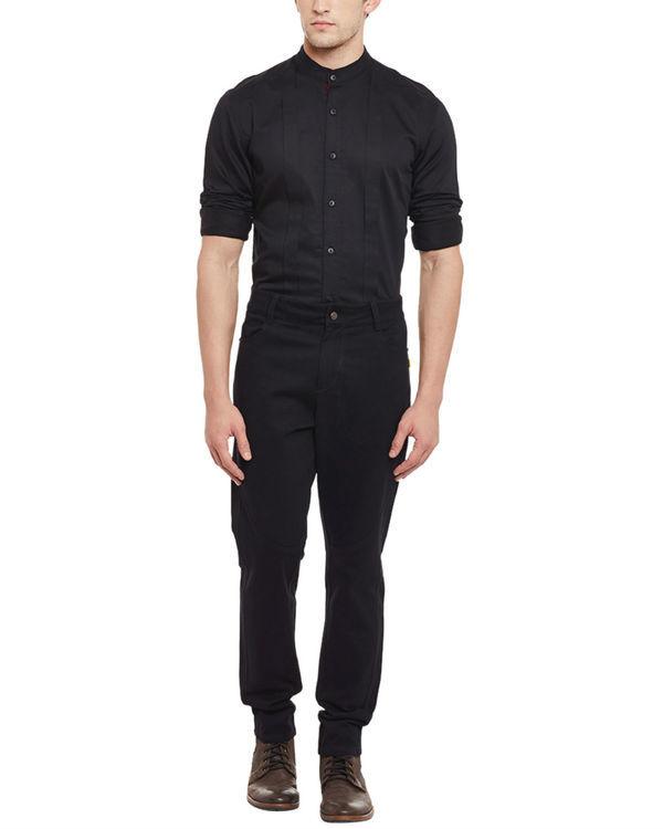 Jet black vintage jeans