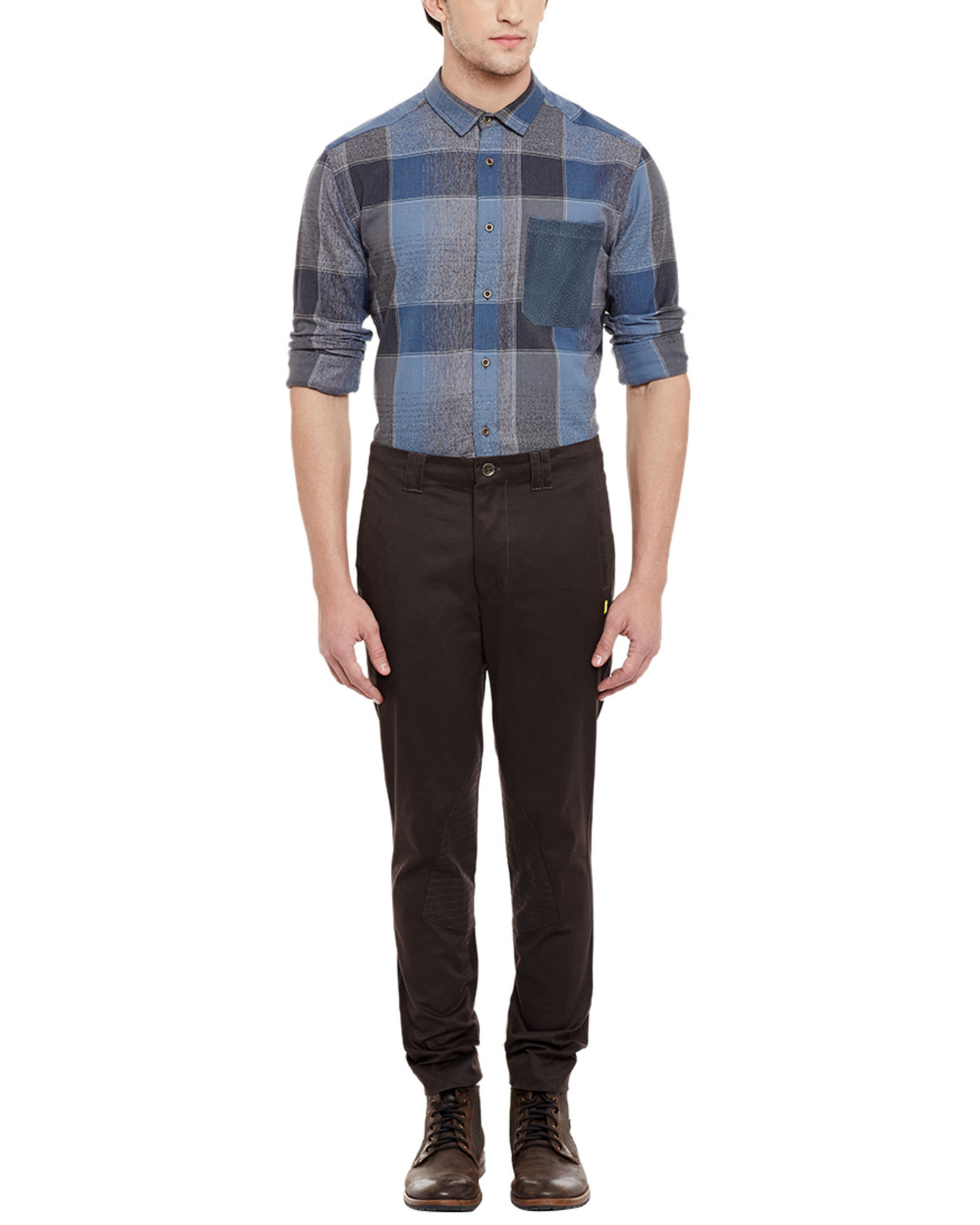 Brown riding trousers