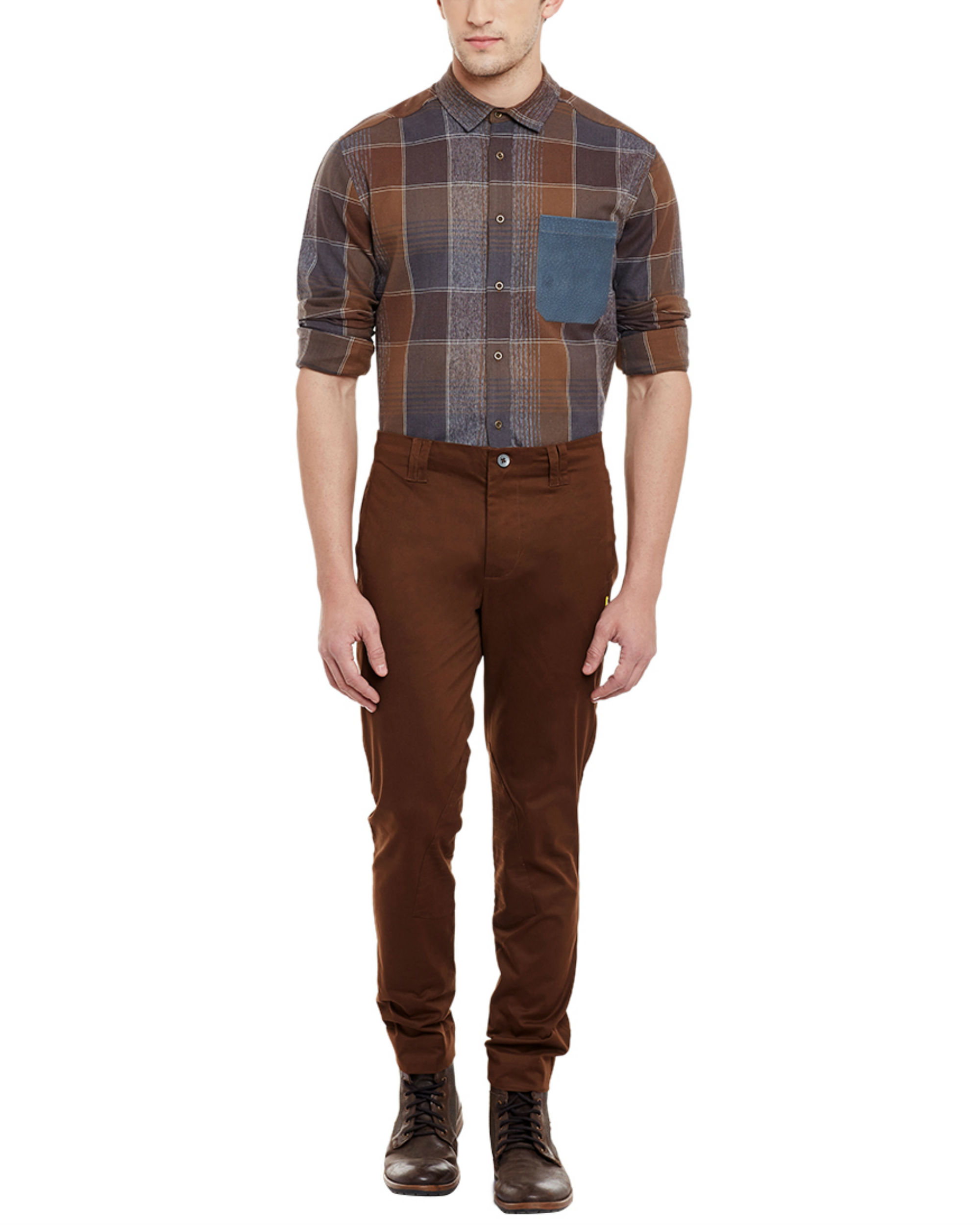 Deep brown riding trousers