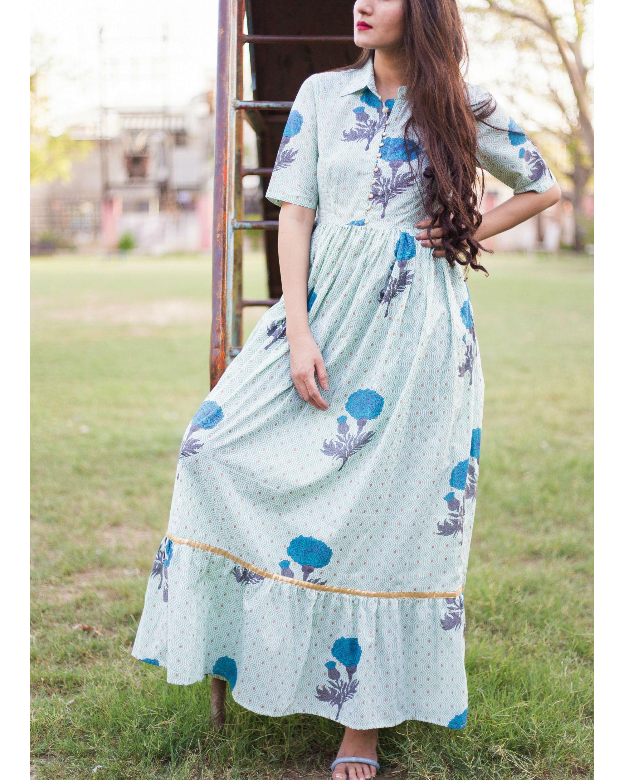 Mughal floral maxi
