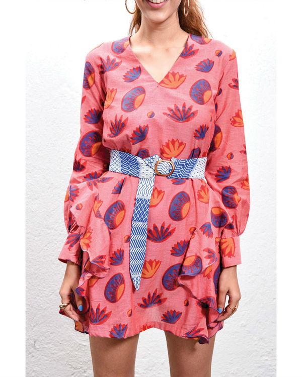 Lotus ruffled dress