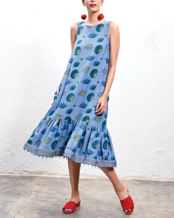 Lotus low hem dress