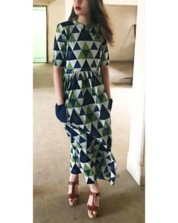 Cobalt pocket dress
