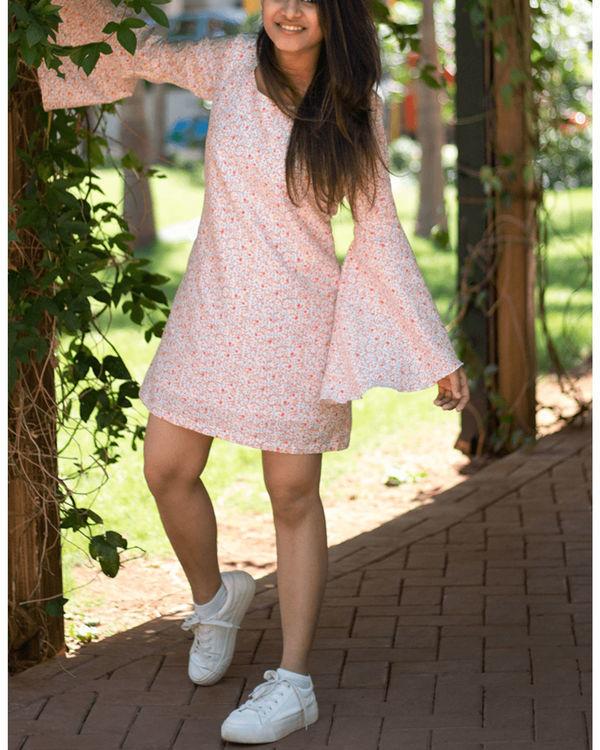 Persimmon bell sleeve dress