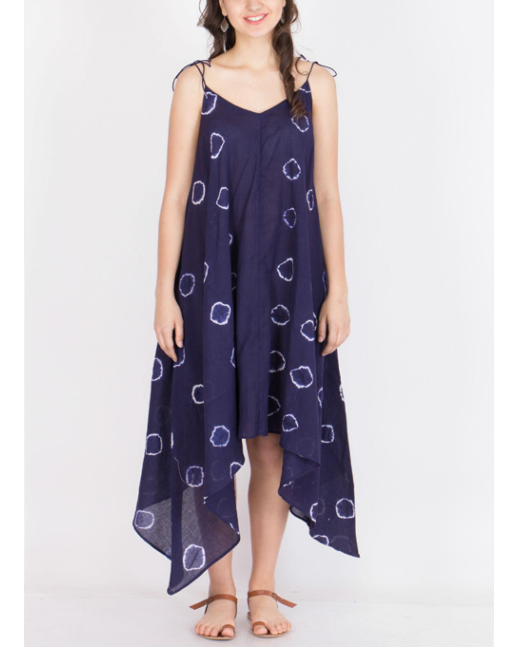 Muslin tie dye dress