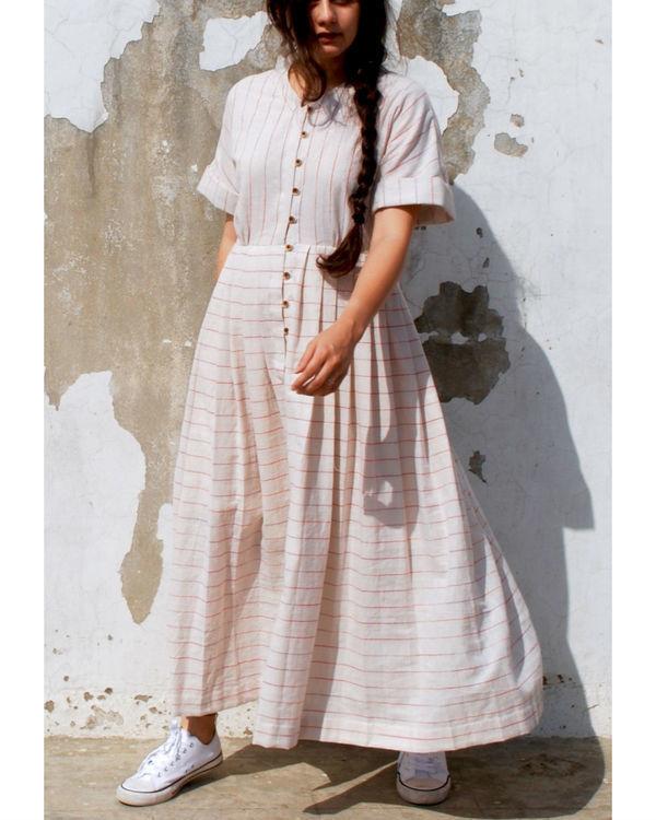 Kimono summer maxi dress