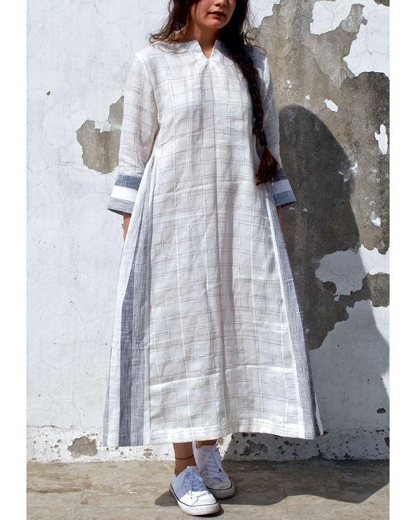 Ash linen tunic