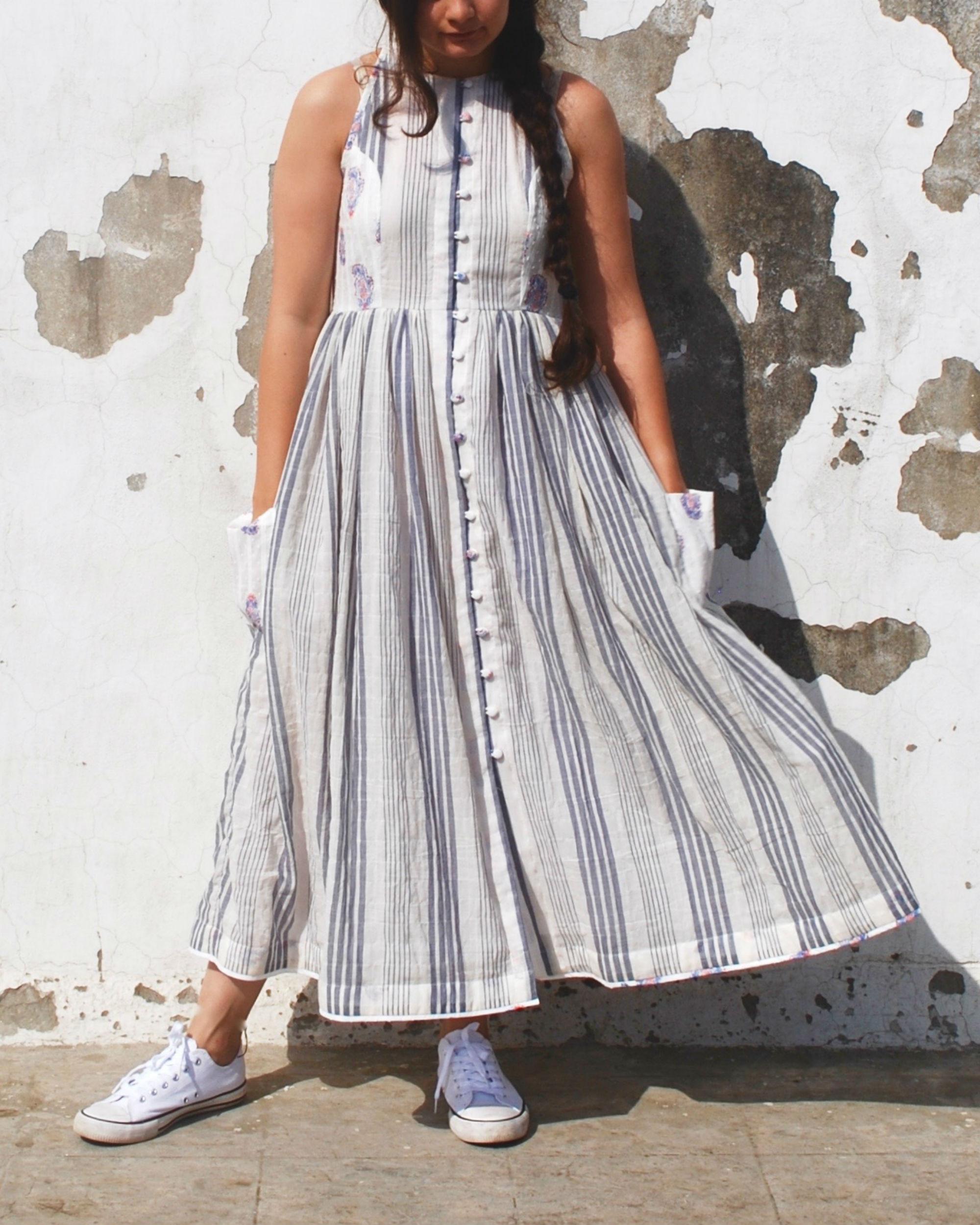 Vertical summer dress
