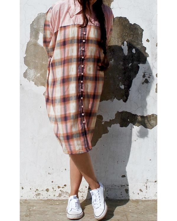 Batwing shirt dress