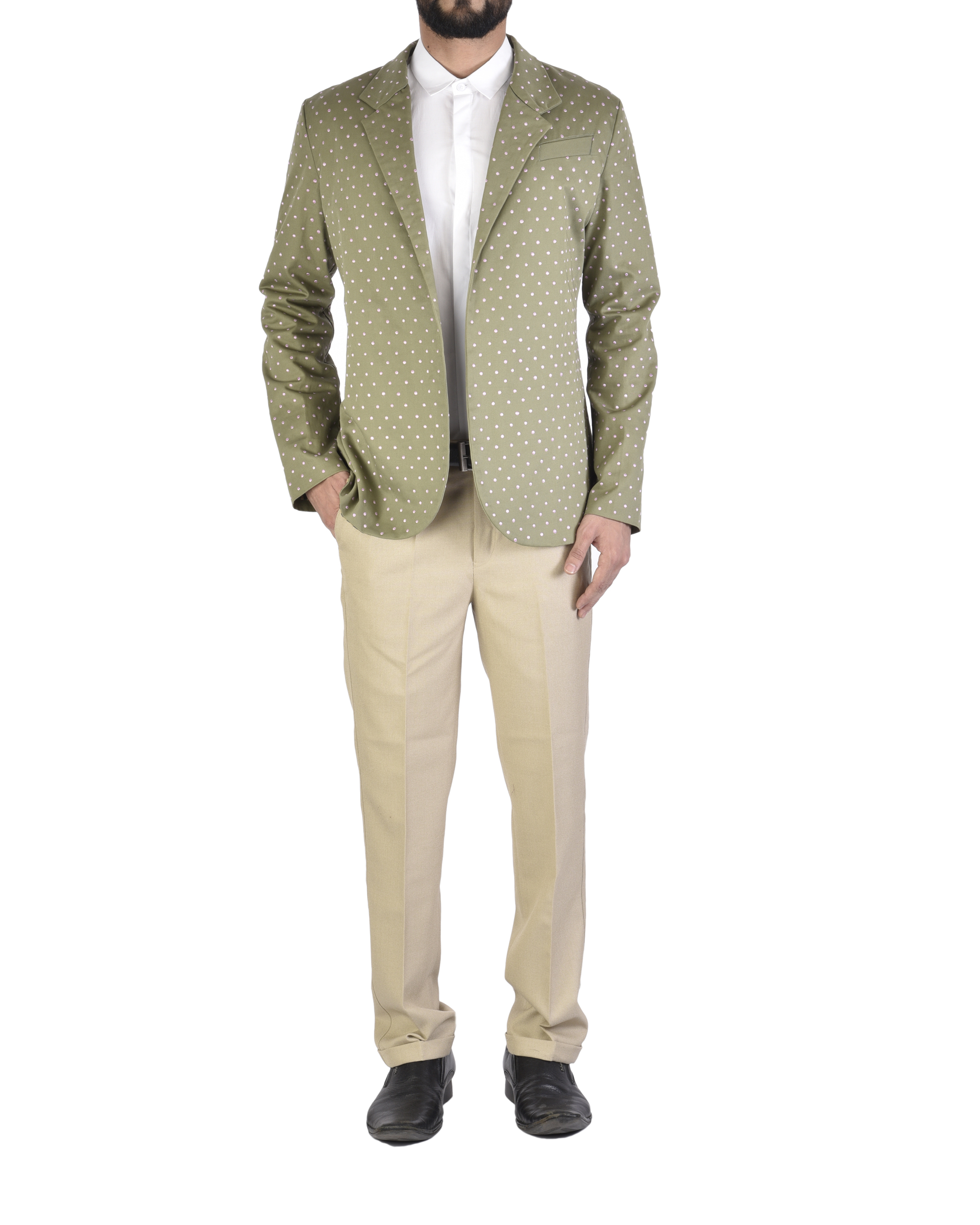 Polka military jacket