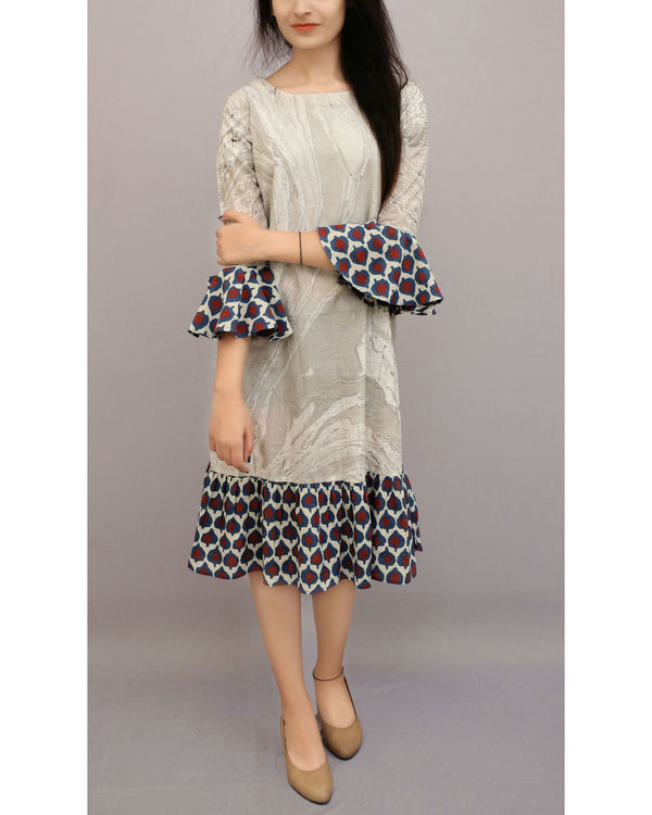 Marble dye summer dress