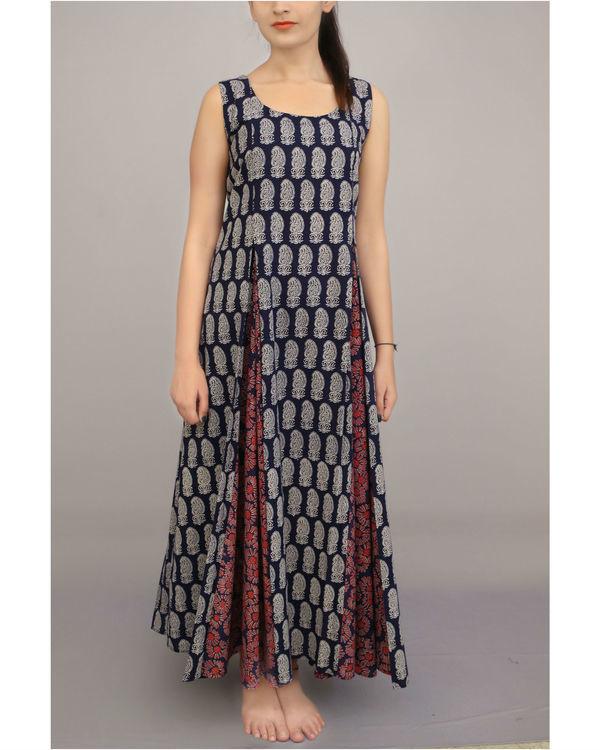 Dual print kalidar dresses