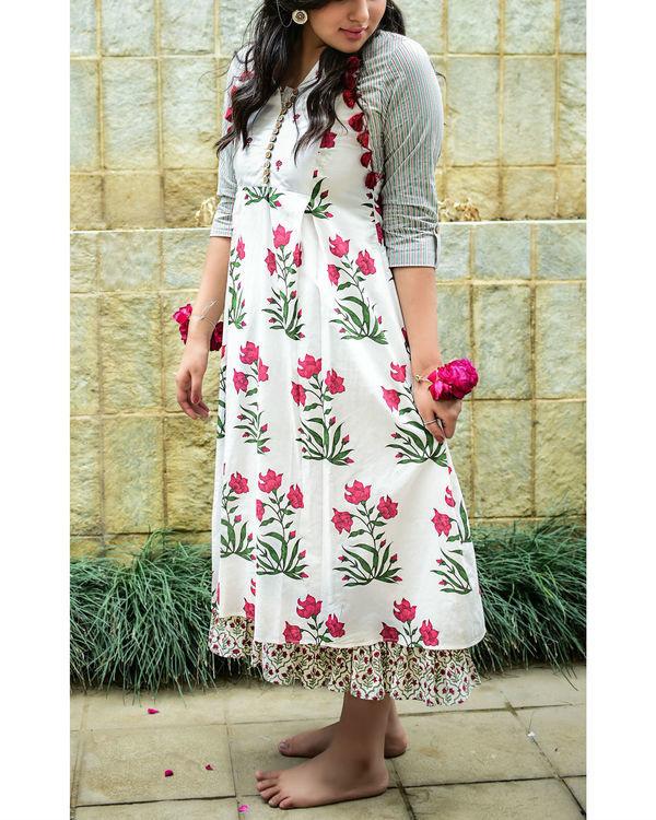 White mughal dress