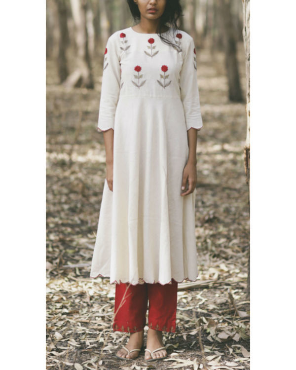 Mogra swing dress