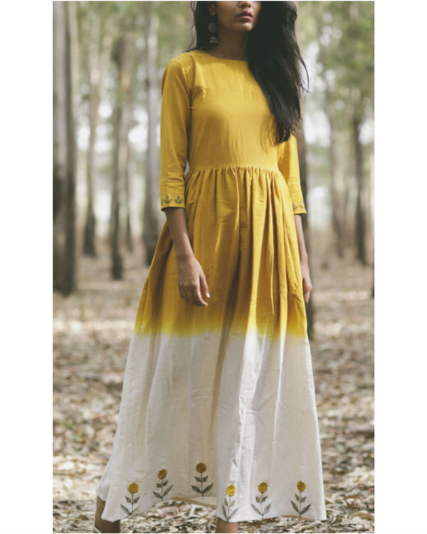 Dandelion fit and flare dress
