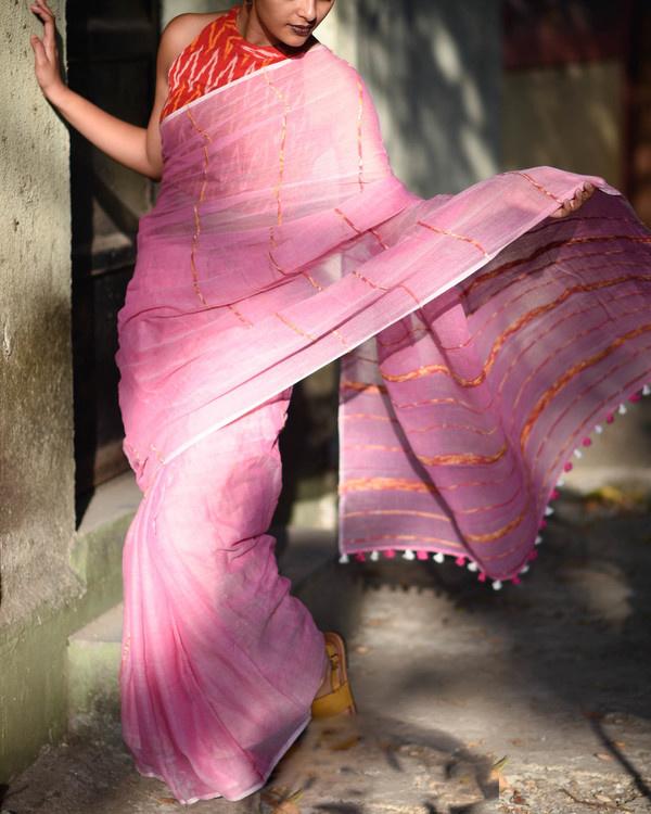 Fairy pink sari