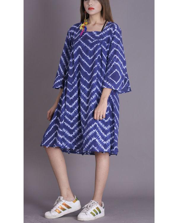 Prussian shibori potli dress