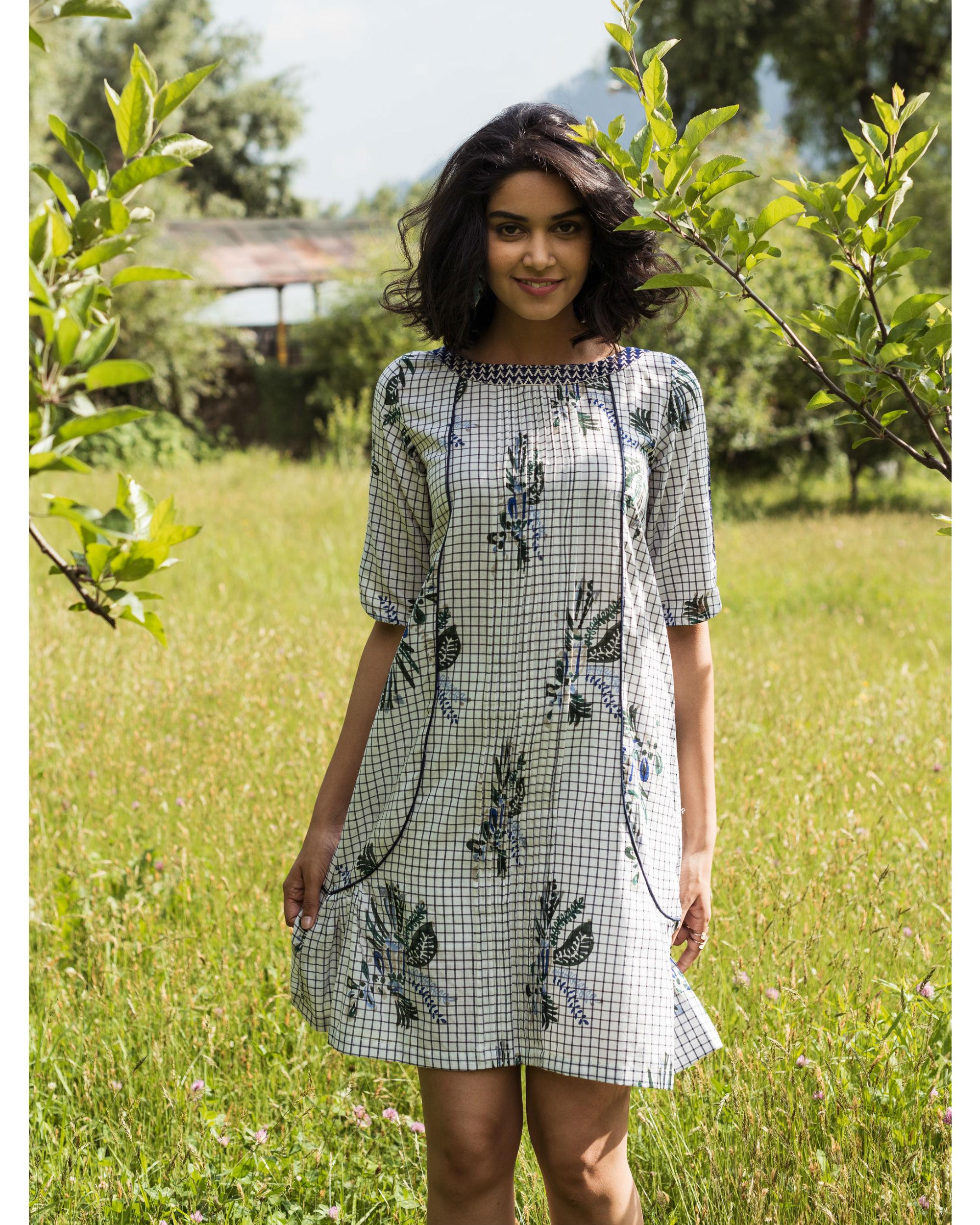 Rainforest checkered tennis dress