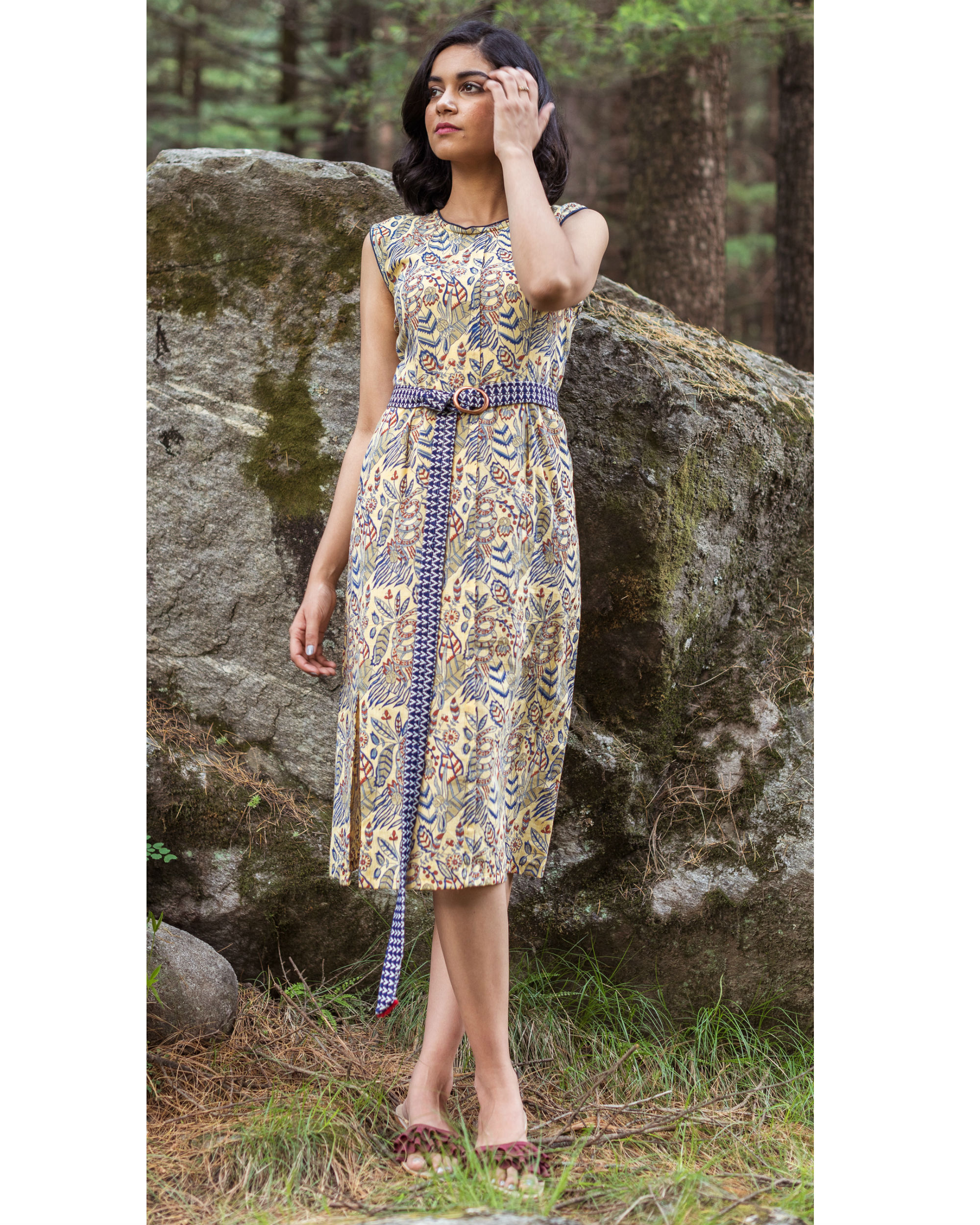 Rainforest sheath dress
