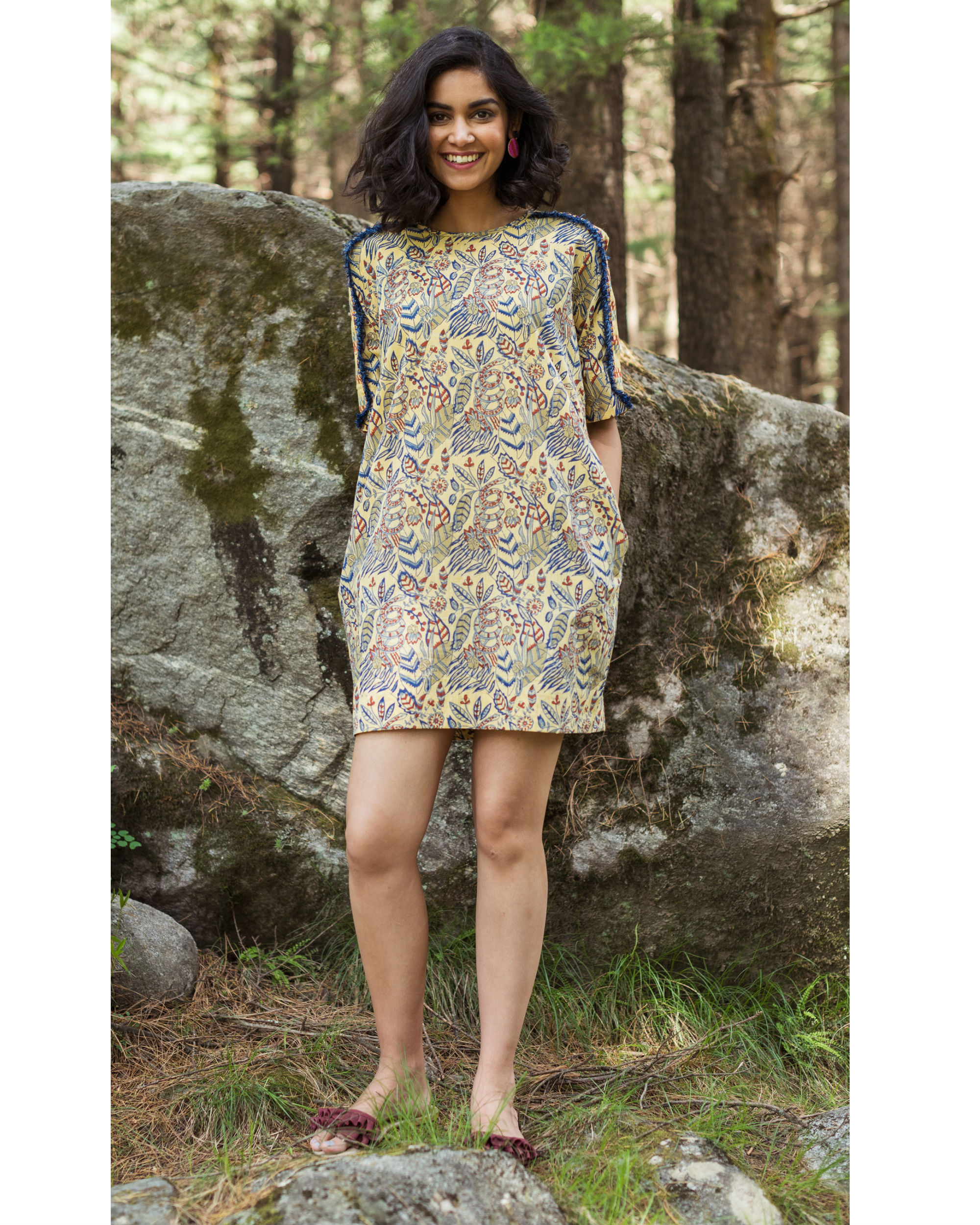 Rainforest shift dress