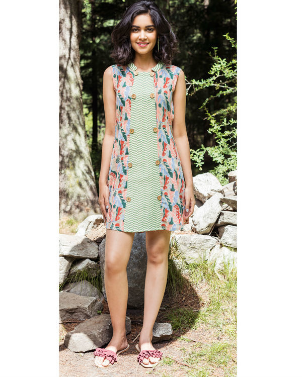 Rainforest blush dress
