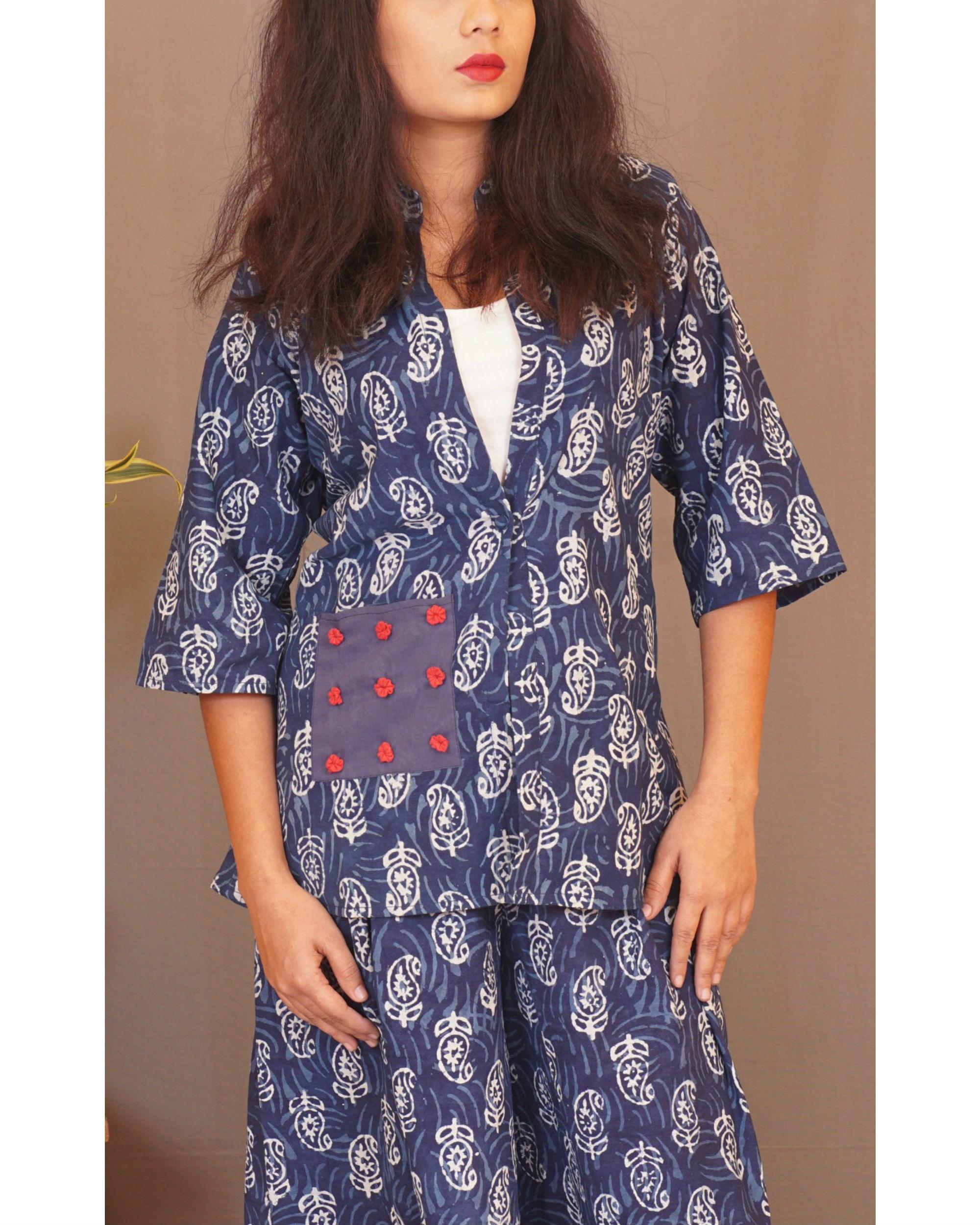 Floral paisley jacket