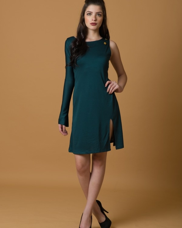 Stand tall one sleeve dress