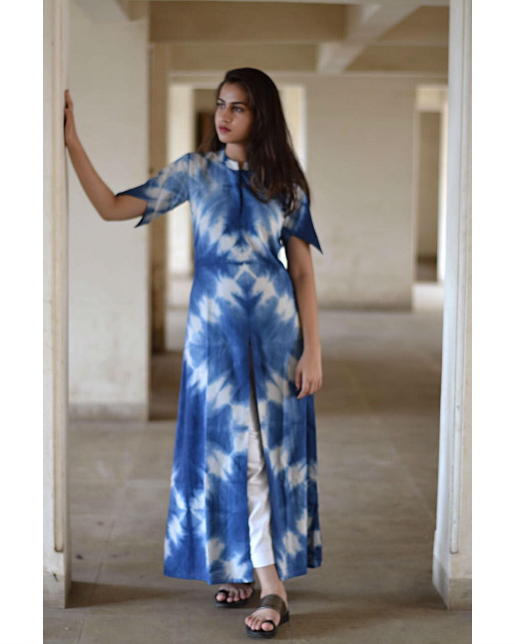 Blue star dress
