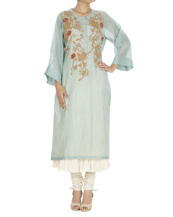 Turquoise kurta set