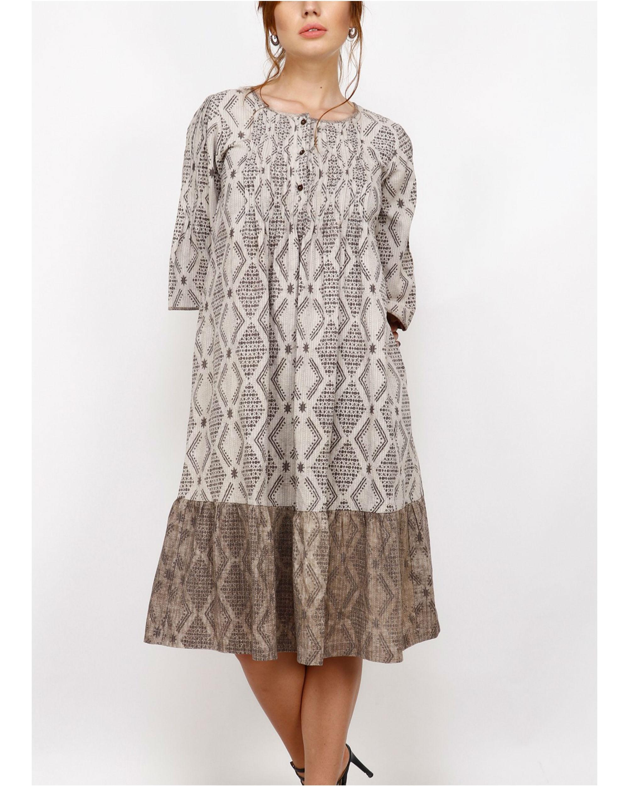 Calla lily dress