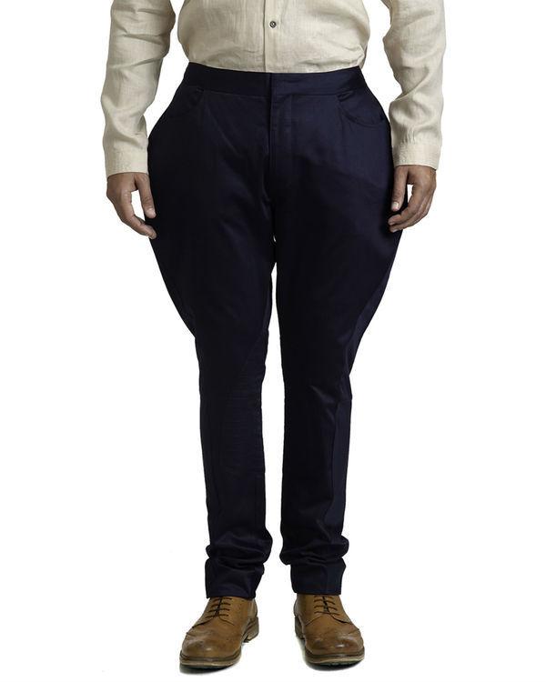 Navy blue jodhpur trousers