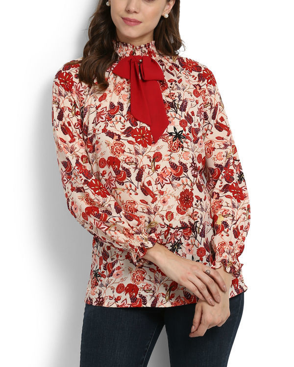 Lokum rose printed top