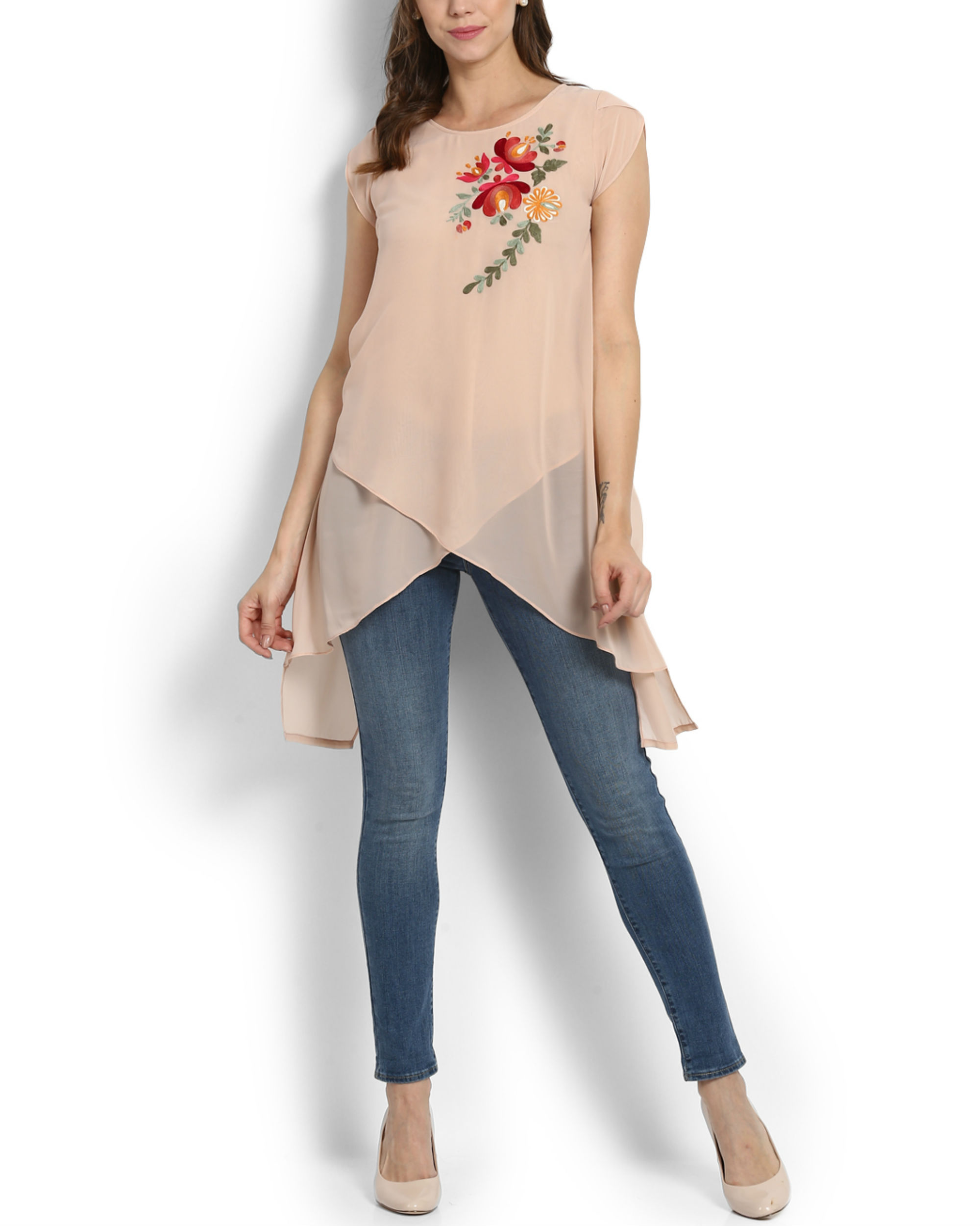 Snowdrop layered top