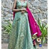 Thumb girija brocade lehenga set 7