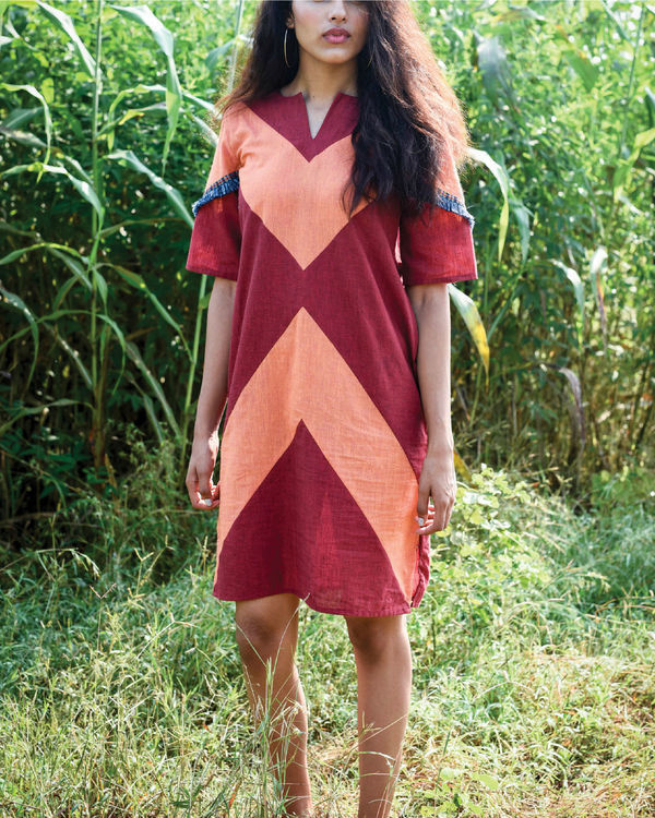 Thimpu shift dress