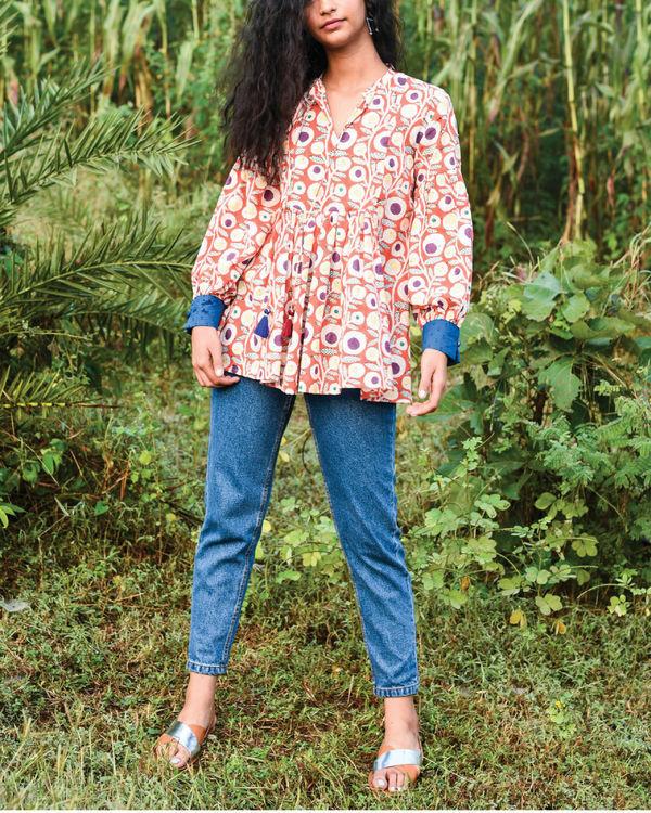 Yetho peasant blouse