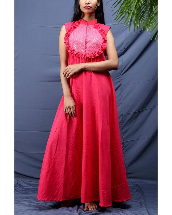 Gulabi sequined dress