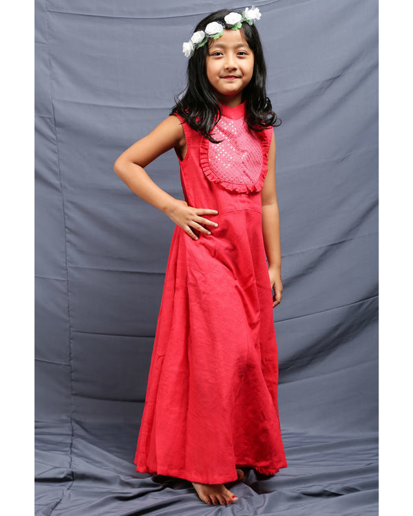 Gulabi ruffled dress