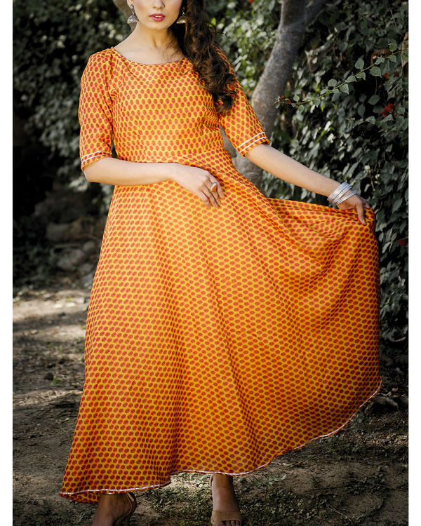 Amala chanderi dress