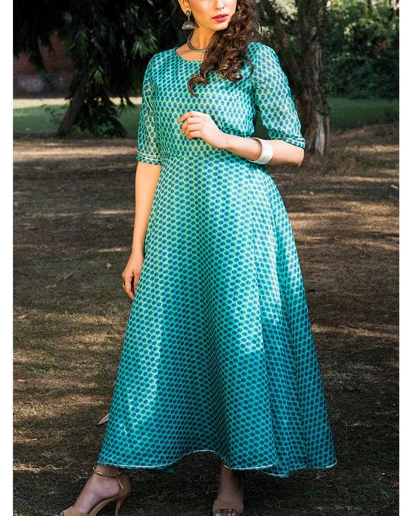 Shaon chanderi dress