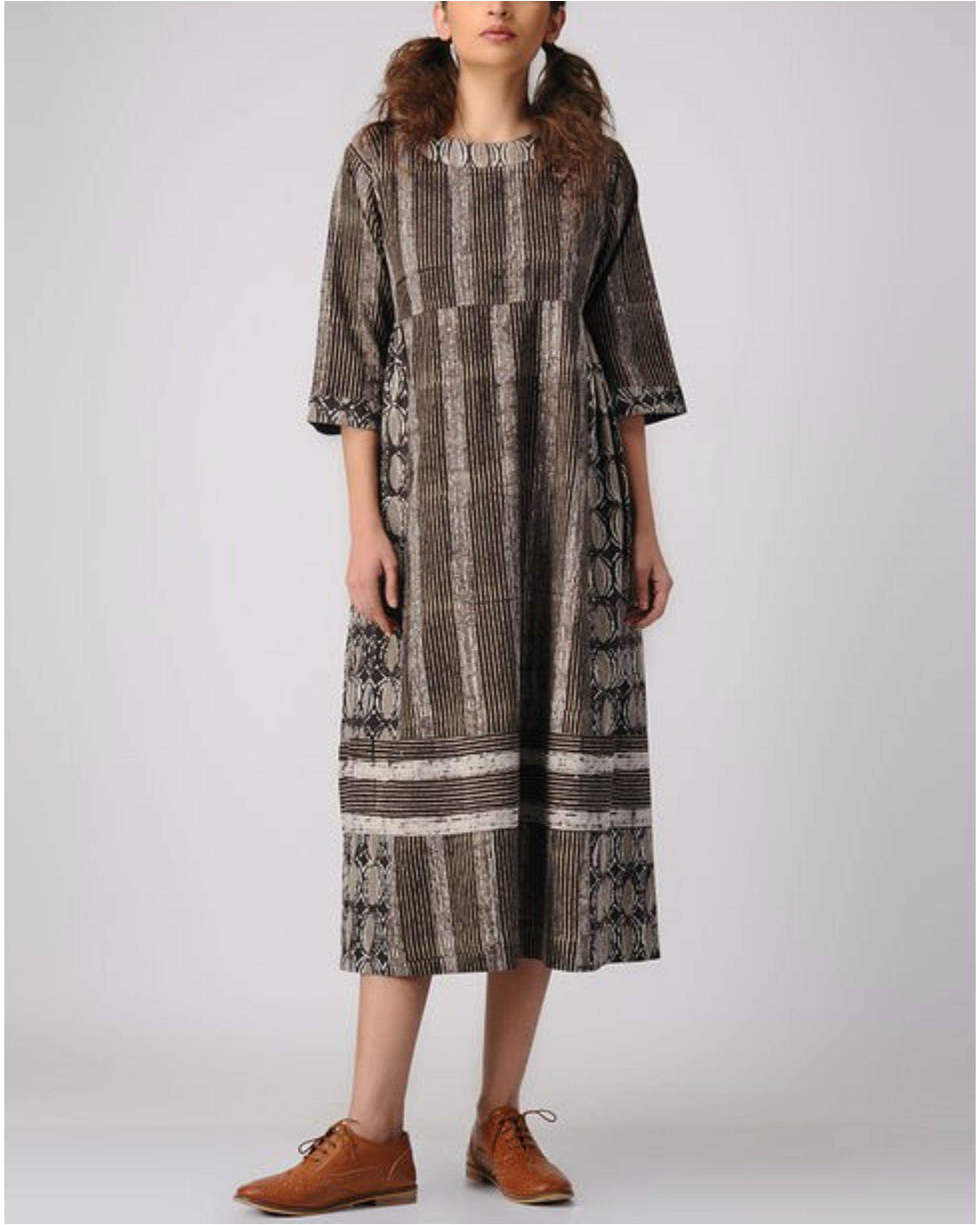 Shades of wood dress