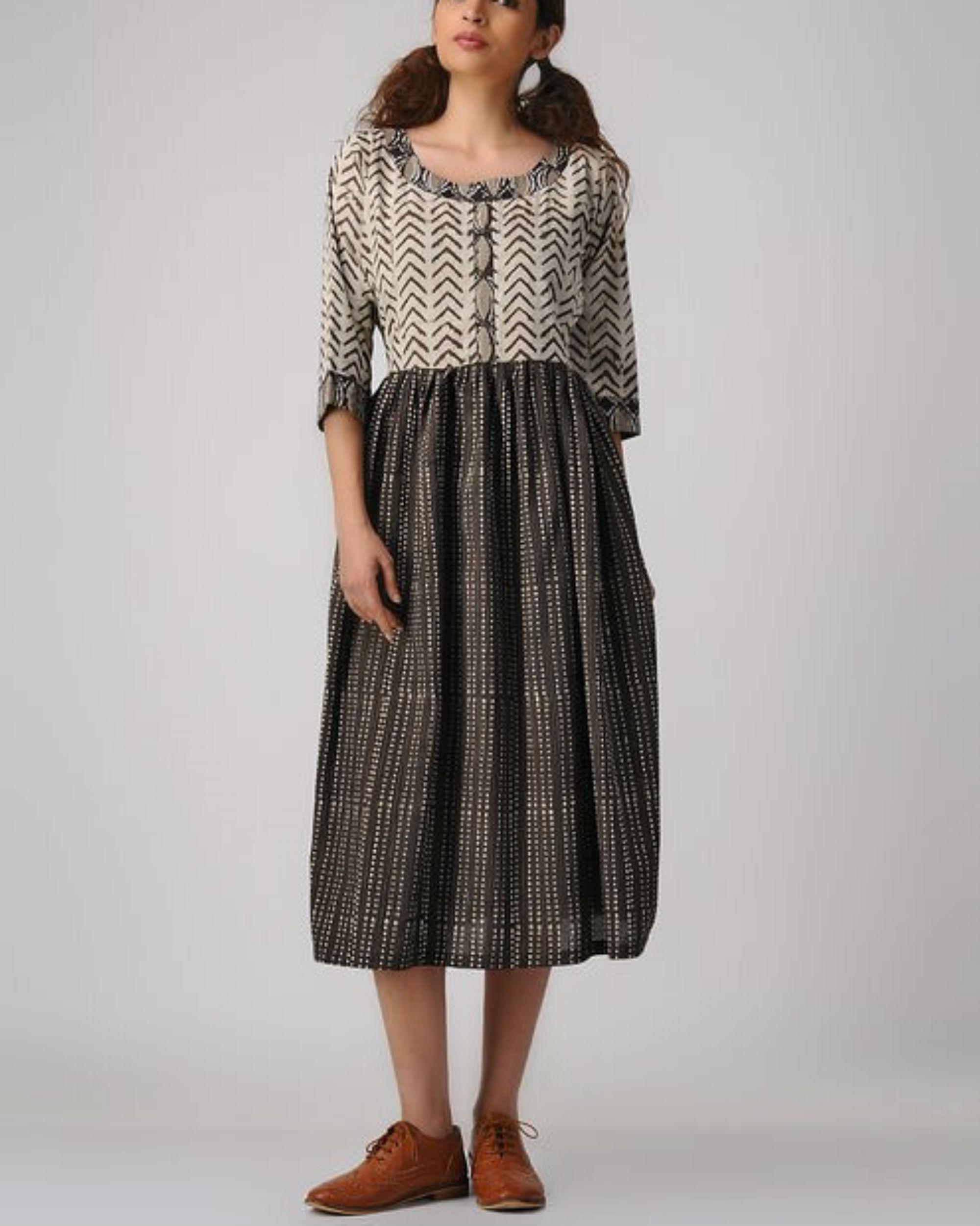 Classic combo dress