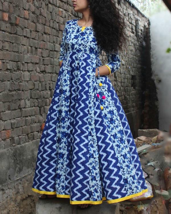 Celestial blue dress