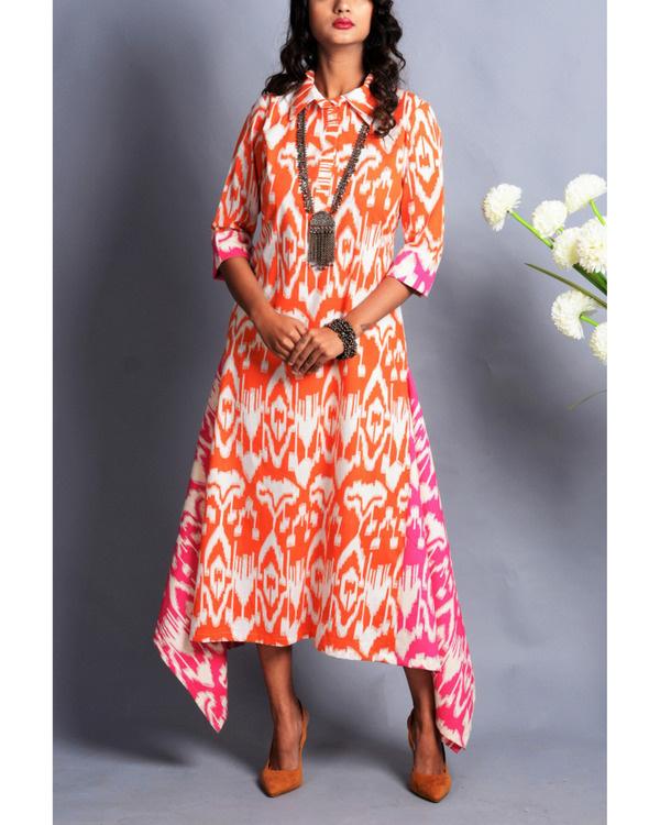 Patola drape dress