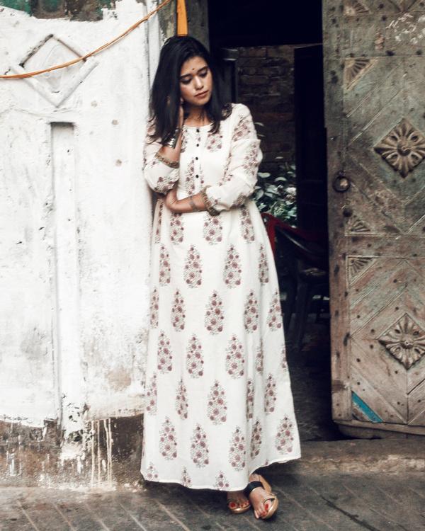 Block print kashish dress